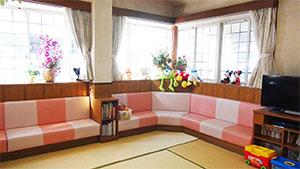 待合(キッズ)スペースの写真