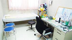 感染症診察室の写真
